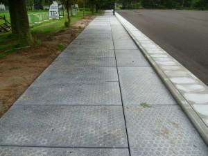 betonplaten sportpark